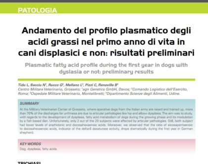 Динамика плазменного профиля жирных кислот