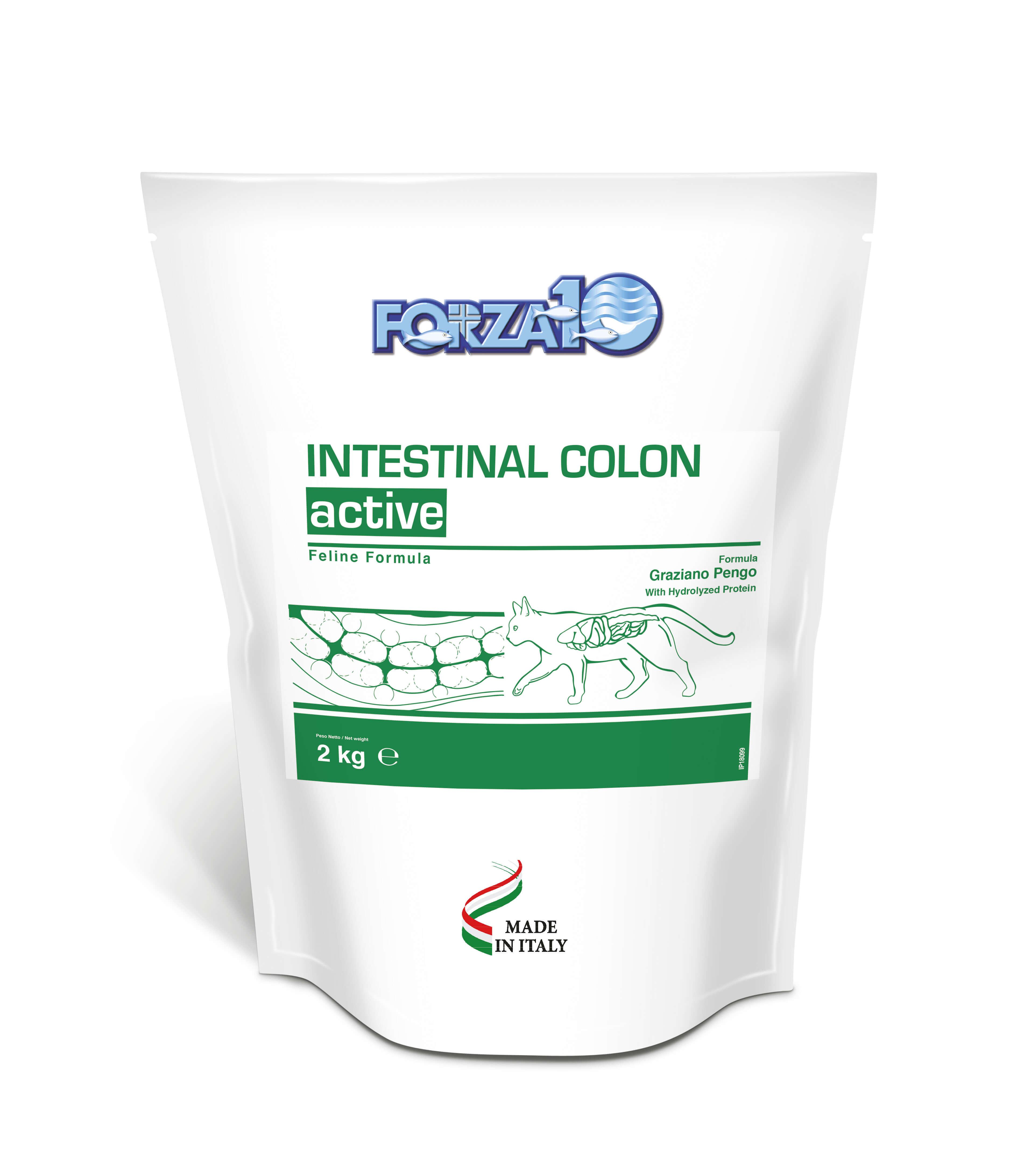 Лечящий корм для кошек FORZA 10 Intestinal COLON фоца 10 форза 10