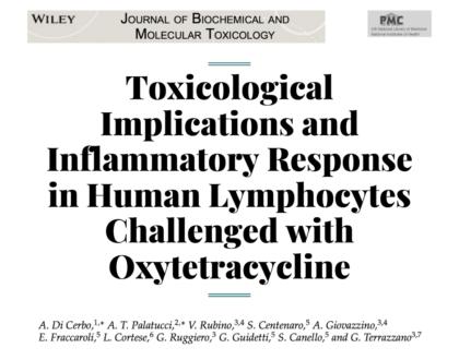 Исследование провоспалительного влияния окситетрациклина