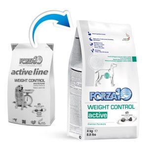 Корм Weight Control Active в новой упаковке Forza10