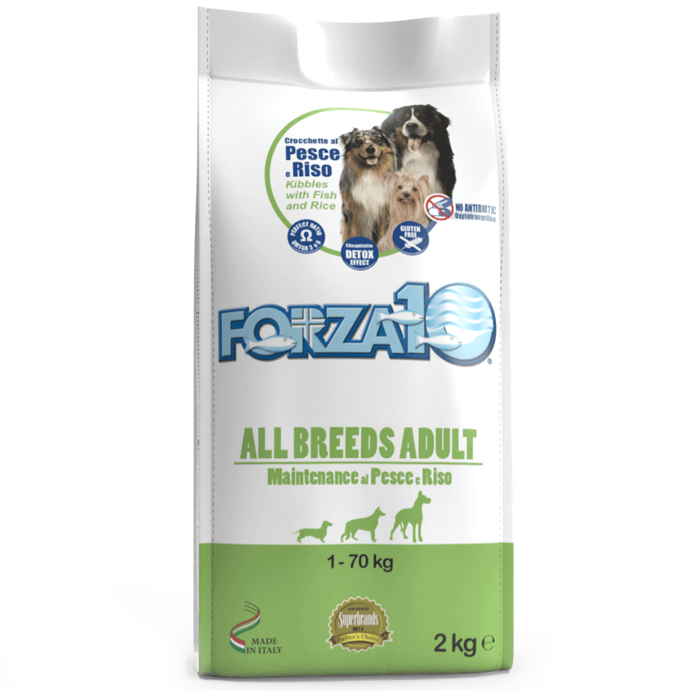 Корм для собак Forza10 ALL BREEDS ADULT MAINTENANCE из рыбы с рисом