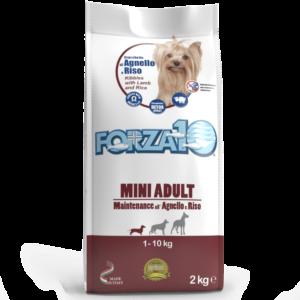 Корм для мелких собак Forza10 MINI ADULT MAINTENANCE из ягненка с рисом