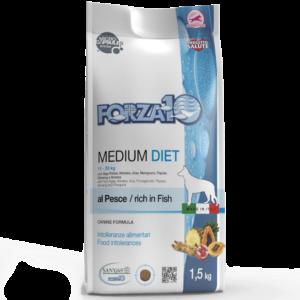 Гипоаллергенный корм для собак на рыбе FORZA10 MEDIUM DIET PESCE