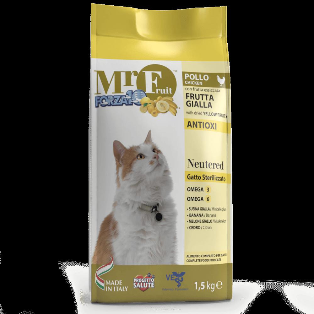 Корм для кошек стерилов FORZA10 MR FRUIT NEUTERED