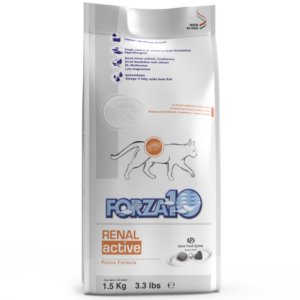 Forza10 RENAL ACTIVE лечебный, ветеринарный корм для кошек с заболеваниями почек