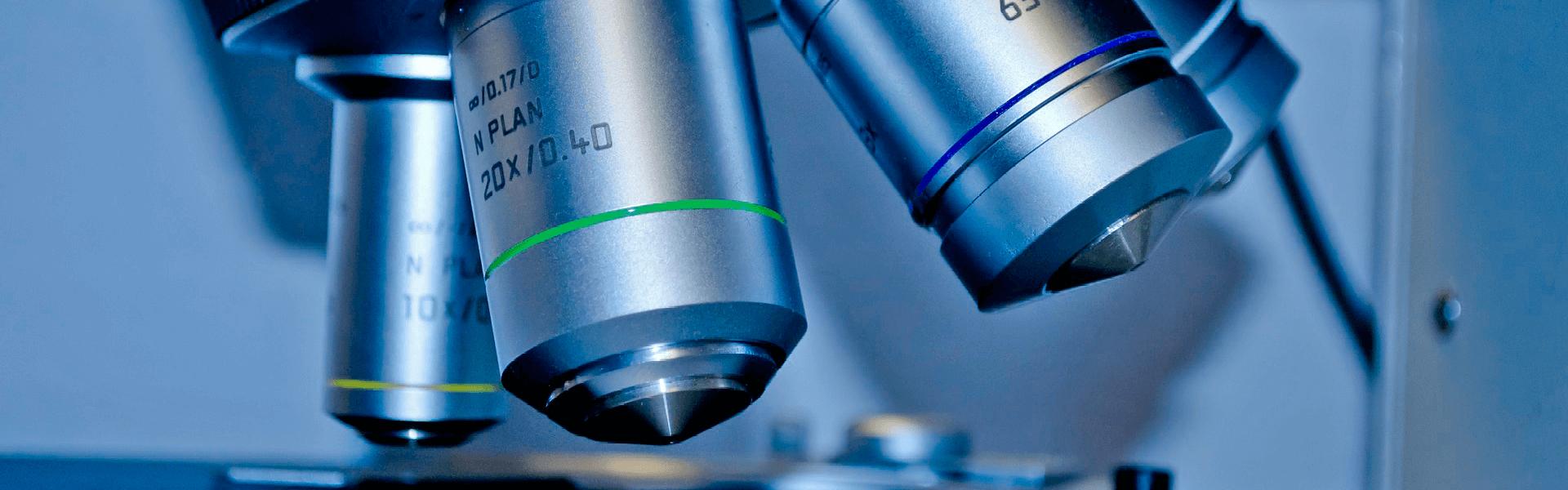 Баннер микроскоп научные исследования Форца10