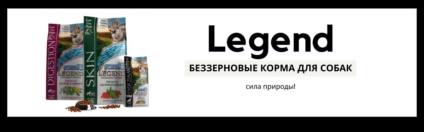 Баннер линии Forza 10 Legend для собак