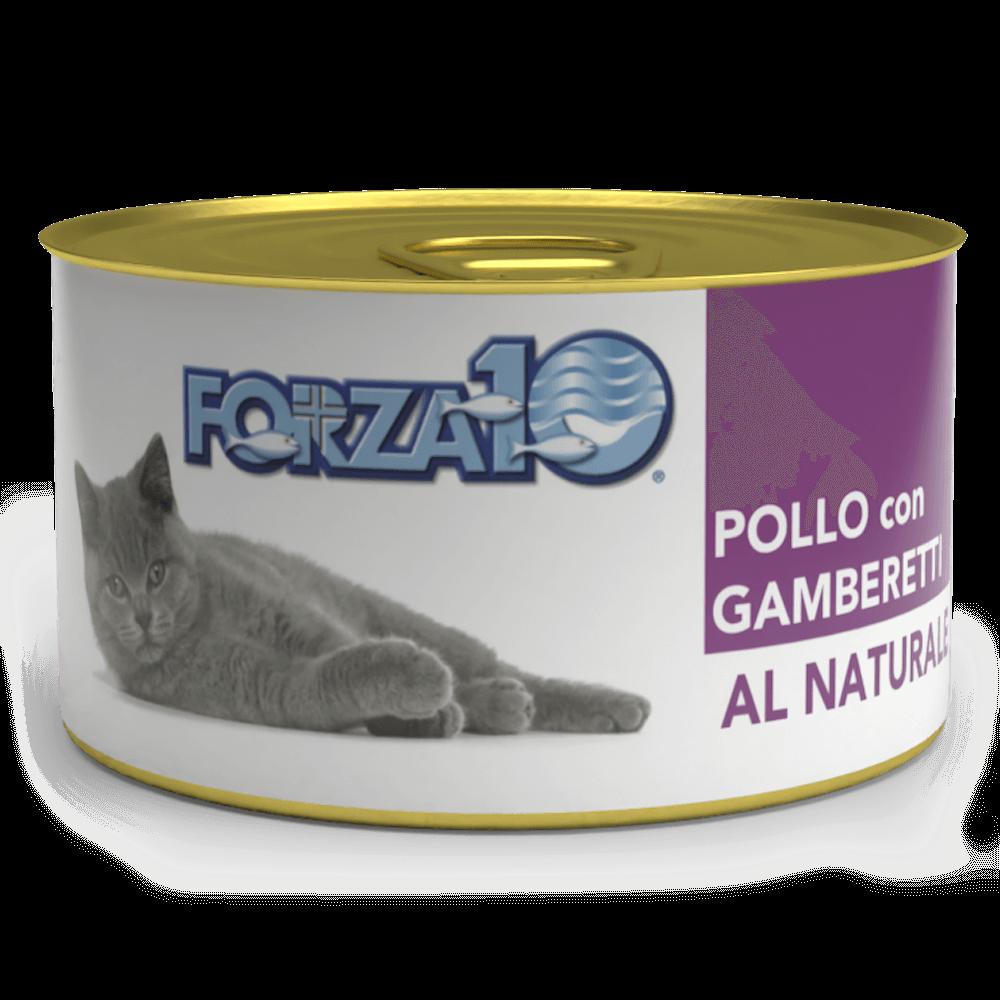 влажный корм для кошек Forza10 Курица с креветками Al Naturale