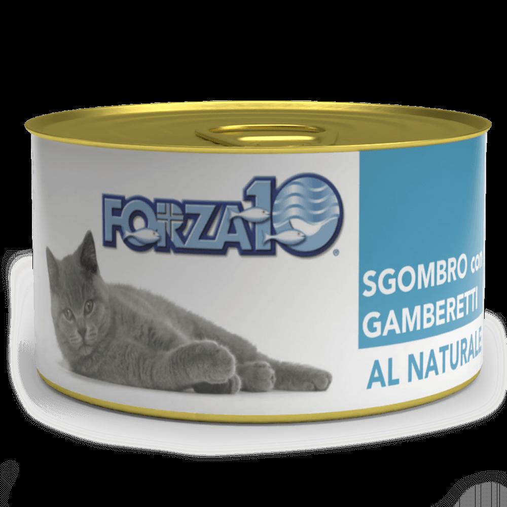влажный корм для кошек Forza10 Скумбрия с креветками Al Naturale