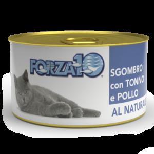 влажный корм для кошек Forza10 Скумбрия с тунцом и курицей Al Naturale