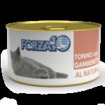 влажный корм для кошек Forza10 Тунец и креветки Al Naturale