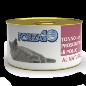 влажный корм для кошек Forza10 Тунец с куриной ветчиной Al Naturale