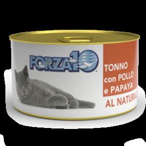влажный корм для кошек Forza10 Тунец с курицей и папайей Al Naturale
