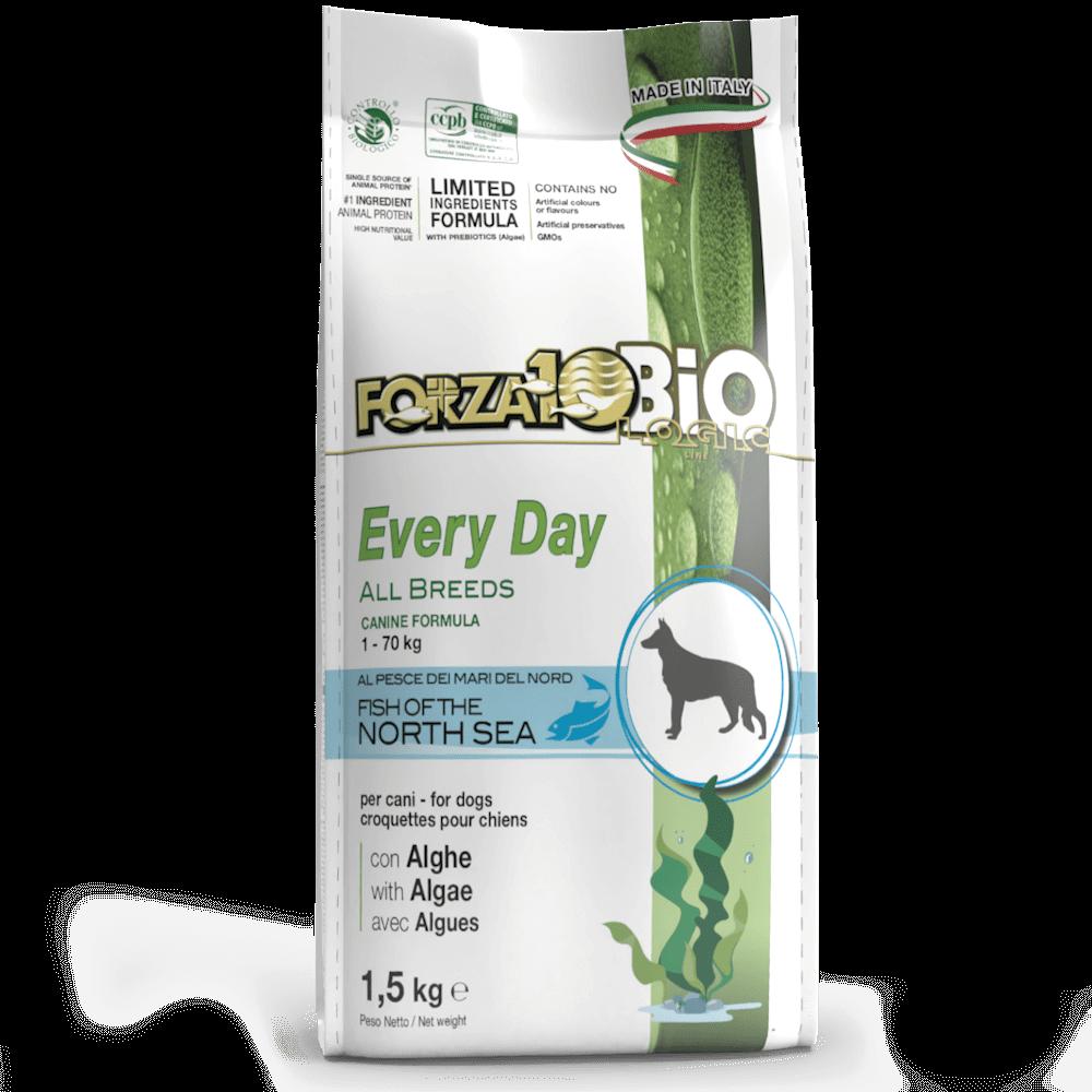 Органический корм для собак Forza10 EVERY DAY BIO ALL BREEDS из рыбы