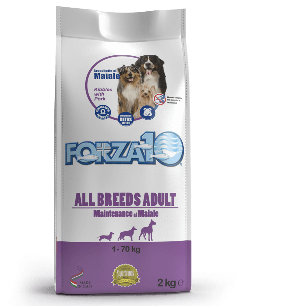 Корм для собак Forza10 All Breeds Adult Maintenance из свинины