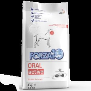 корм Forza10 ORAL ACTIVE корм для собак с проблемами ротовой полости, плохой запах, зубной камень